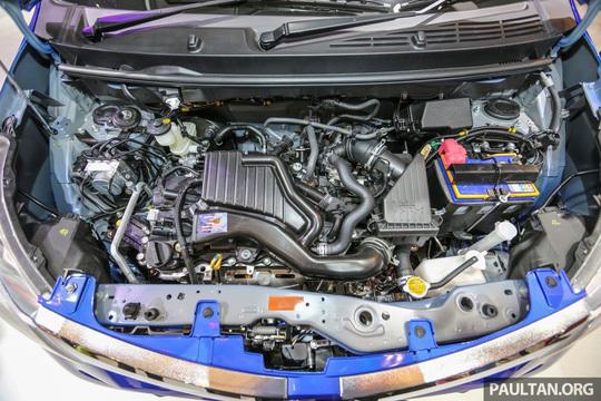 Toyota Calya có người anh em song sinh Daihatsu Sigra trình làng 6