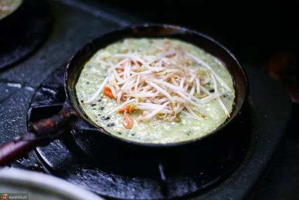 món ngon, ẩm thực, vỉa hè, bánh xèo, Hà Nội