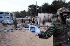 Lính Hàn chết bất thường gần biên giới Triều