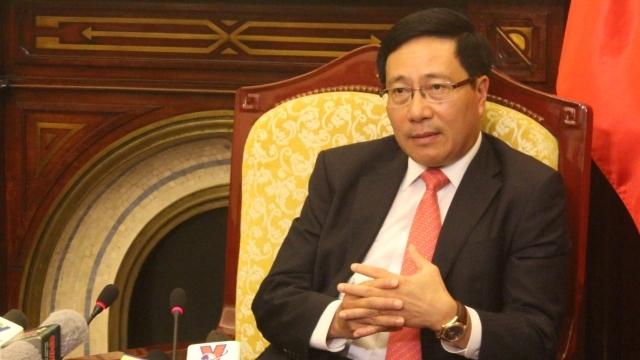 Phó Thủ tướng, Bộ trưởng Ngoại giao Phạm Bình Minh, đối ngoại, chủ quyền