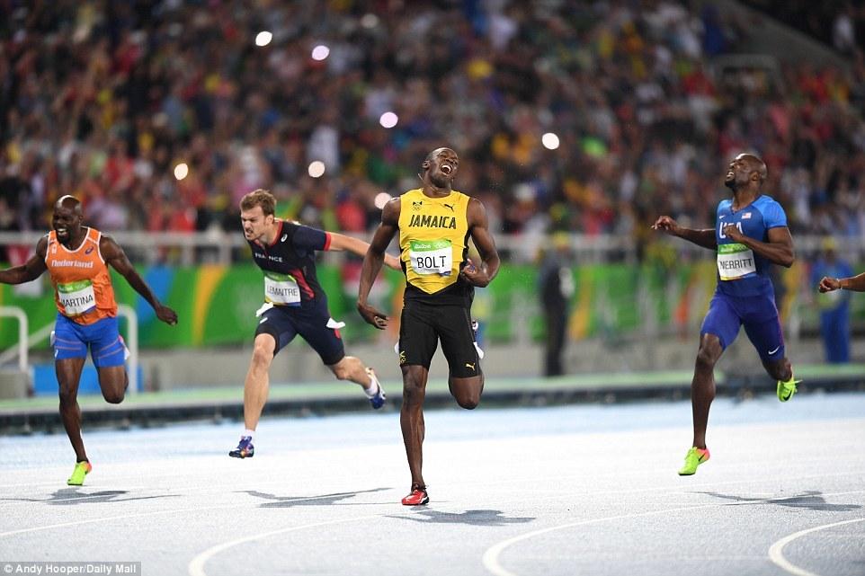 Usain Bolt giành HCV, vô đối trên đường chạy 200m