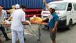 Gần 1 giờ giải cứu tài xế trong cabin xe tải biến dạng