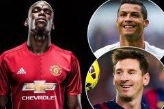 "Mourinho ""hô biến"" Messi, Ronaldo, Pogba là nhất"