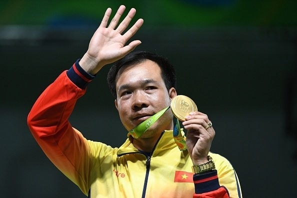 TTVN, đoàn Việt Nam, Olympic Rio 2016, xạ thủ Hoàng Xuân Vinh, cột mốc lịch sử, Rio