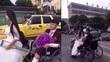 Xe máy đâm ô tô trước đám dẫn dâu lạ