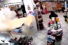 Đấu súng với chủ cửa hàng, tên cướp bị bắn gục