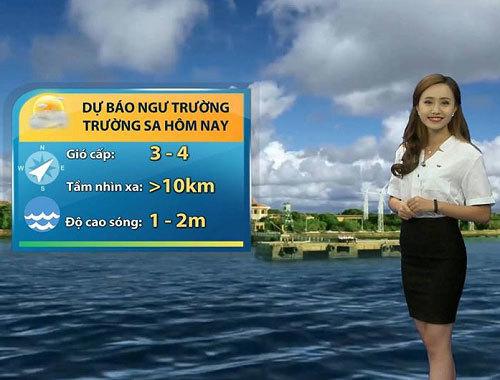 MC thời tiết VTV lên tiếng khi bị tố 'làm màu' trên sóng trực tiếp