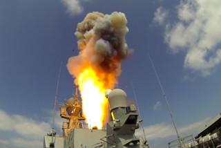 Tàu chiến Nga nã tên lửa diệt khủng bố ở Syria