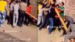 Hàng chục người bị điện giật vì hò nhau nâng cột đổ