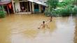 Yên Bái ngập như sông, 6 người chết ở các tỉnh miền núi