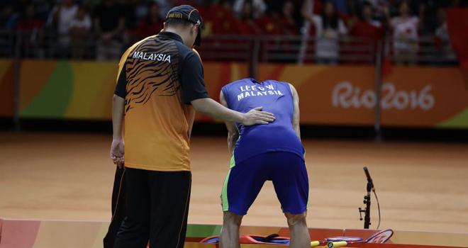 Lee Chong Wei lần thứ 3 liên tiếp thất bại ở chung kết Olympic
