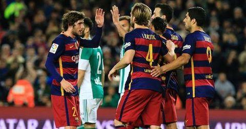 Barcelona 6 - 2 Real Betis