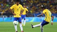 Siêu phẩm sút phạt của Neymar ở chung kết bóng đá nam Olympic