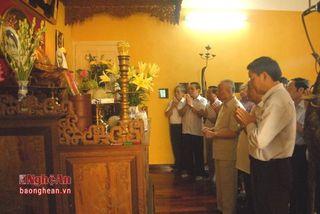 Lễ giỗ Chủ tịch Hồ Chí Minh lần thứ 47 tại Hà Nội