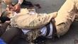 Hà Nội: Nam thanh niên điên cuồng chạy xe máy đâm CSGT