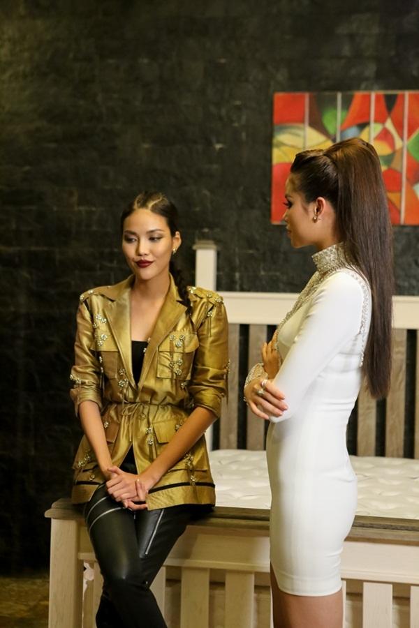 Hoàng Thùy, Lan Khuê, Hạ Vi, bạn gái Cường Đôla, thời trang sao