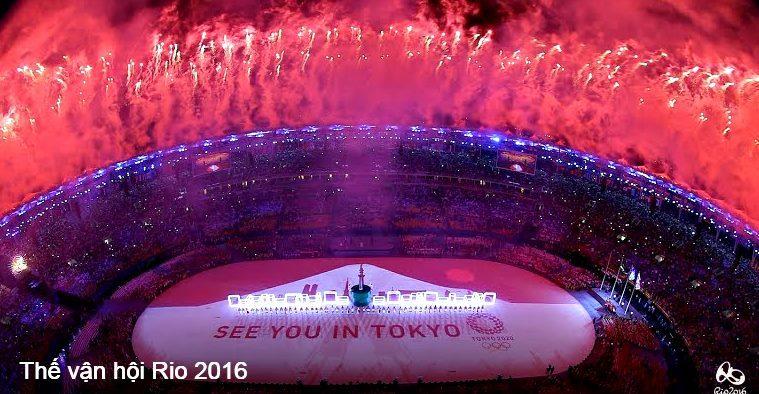 Những khoảnh khắc ấn tượng về lễ bế mạc Olympic 2016