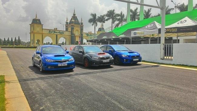 Cường Đô-la, Subaru WRX STI, trường đua, siêu xe, ô tô, sưu tập, lái xe, tài xế, đua xe, thiếu gia