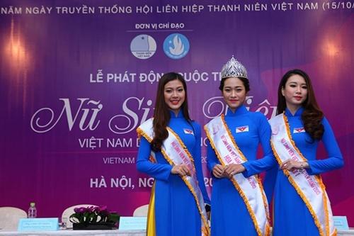 Nữ sinh viên Việt Nam duyên dáng, hoa khôi sinh viên