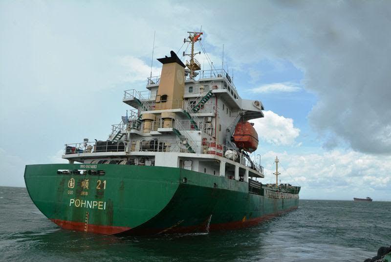 Đâm chìm tàu Thành Đạt 01, tàu của người TQ bị bắt giữ