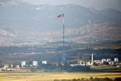 Triều Tiên rải mìn ở làng đình chiến