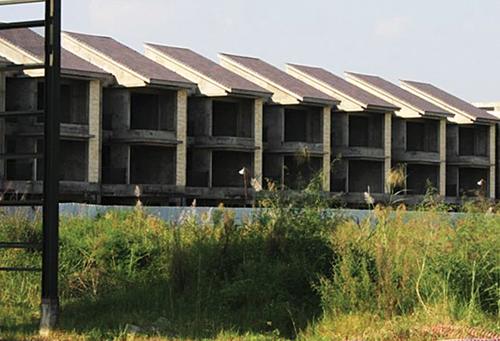 dự án đắp chiếu, Dự án Ha Noi Garden City, dự án tỷ đô bỏ hoang