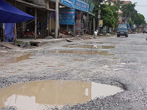 quốc lộ 38, chậm tiến độ, đường xuống cấp, Hải Dương, Bắc Ninh