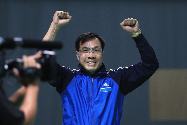 Hoàng Xuân Vinh, tốp 50, VĐV xuất sắc, Olympic Rio 2016