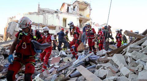 Số người chết vì động đất tại Italy tăng chóng mặt