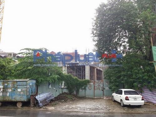 chung cư Hà Nội, chung cư 134 Quần Ngựa, chung cư đắp chiếu