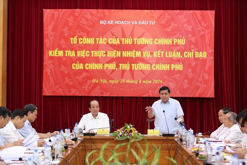 Một tuần 40 cuộc họp và lời hứa của Bộ trưởng KH-ĐT