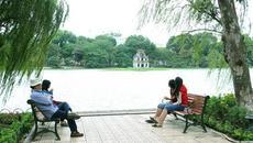 Đón gió lạnh, Hà Nội giảm 8 độ