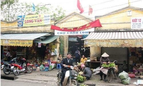 chợ Châu Long, trung tâm thương mại, dự án đầu tư xây dựng chợ - trung tâm thương mại Châu Long