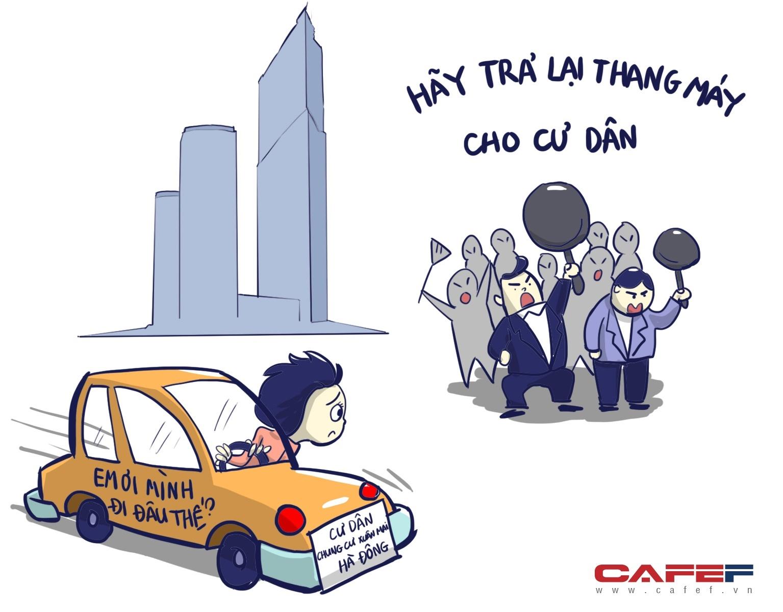 chung cư Hà Nội, nước sinh hoạt chung cư CT9 Định Công có giun, cháy chung cư Nam Xa La, chung cư Resco Cổ Nhuế bị ngập