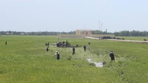 Máy bay quân sự rơi ở Phú Yên, 1 phi công hi sinh