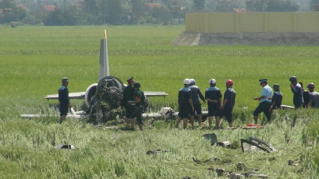 Máy bay quân sự rơi ở Phú Yên, 1 phi công tử nạn