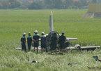 Bộ Quốc phòng thông tin vụ máy bay rơi