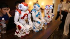 Đưa robot ứng dụng dạy học tiếng Anh của Nhật tới VN