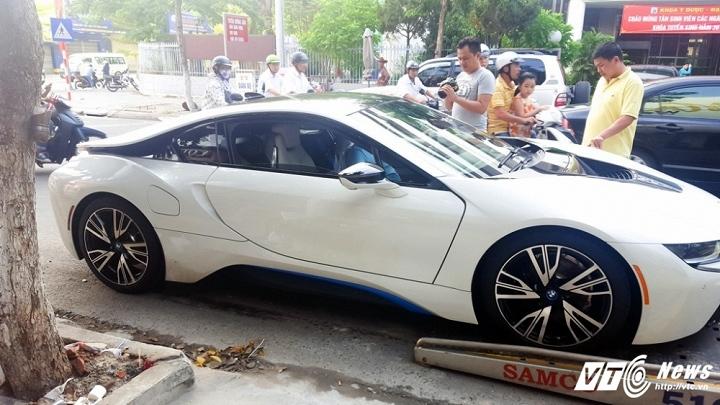 BMW i8, đại gia, đại gia Đà Nẵng, siêu xe,