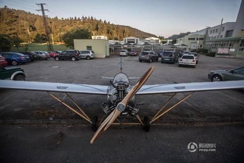20160827093455 may bay3 Chán ô tô, người đàn ông quyết tâm tạo ra máy bay để đi làm hàng ngày