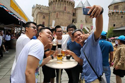 thị trường, bia, lễ hội bia, Bà Nà