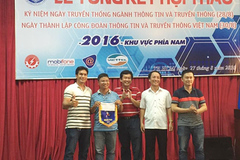 Báo VietNamNet đoạt giải 3 môn bóng đá hội thao Bộ TT&TT
