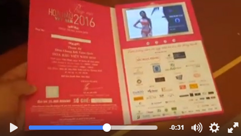 Lộ diện vé 25 triệu của Hoa hậu Việt Nam 2016