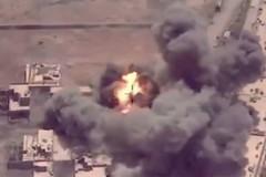 Xem liên quân oanh kích phá nát chốt điểm IS