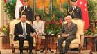 Chủ tịch nước hội đàm với Tổng thống Singapore