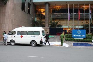 Nam thanh niên rơi từ khách sạn 5 sao xuống đất, tử vong