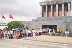 Tạm ngừng tổ chức viếng Chủ tịch Hồ Chí Minh