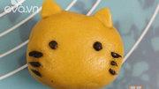 Bánh Trung thu hình chú mèo ngộ nghĩnh cho bé