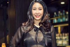 Hà Kiều Anh diện áo sexy bất chấp tuổi tác