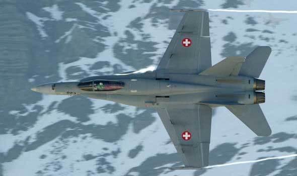 Máy bay Thụy Sĩ mất tích